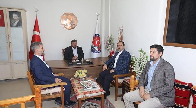 Çiftçi'den Şanlıurfa Gazetesine ziyaret