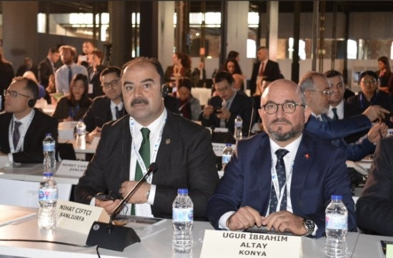 Çiftçi, İspanya'da toplantıya katıldı
