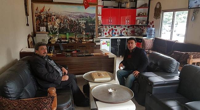 Güler'den Karadaş'a ziyaret