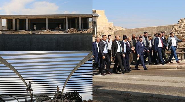 Harran'da yeni projeler devam ediyor