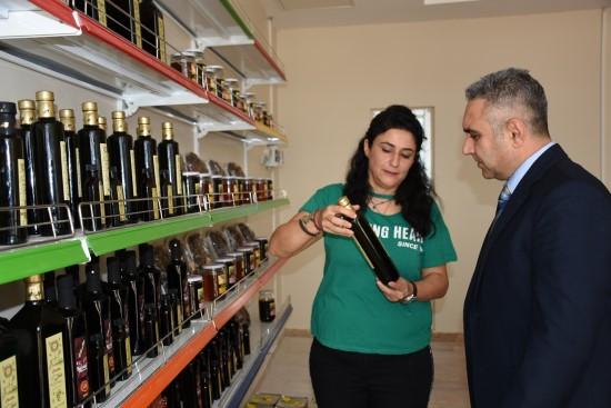 HRÜ'de sertifikalı organik ürünlerin satışı başladı
