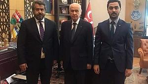 İşadamı Mehmet Fatih Bucak MHP dedi.
