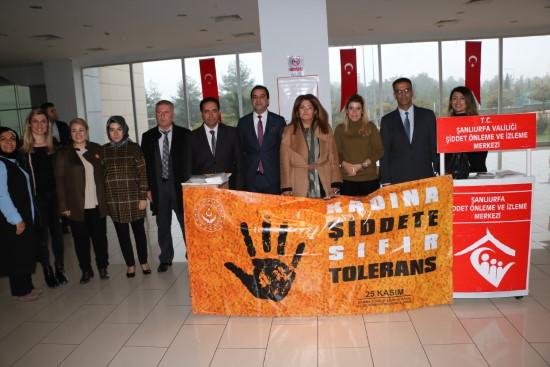 Kadına yönelik şiddete karşı mücadele günü etkinliği