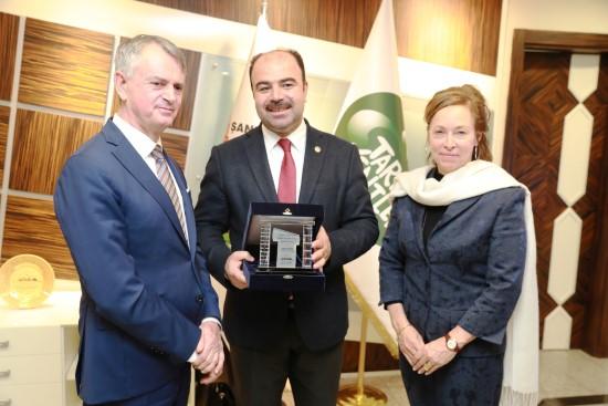 Kanada Büyükelçisi'nden Büyükşehir'e ziyaret