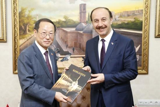 Kore'den Şanlıurfa'ya 1 milyon dolarlık destek