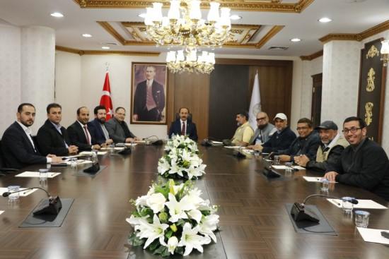 Kuveyt heyeti, işbirliği protokolü imzaladı
