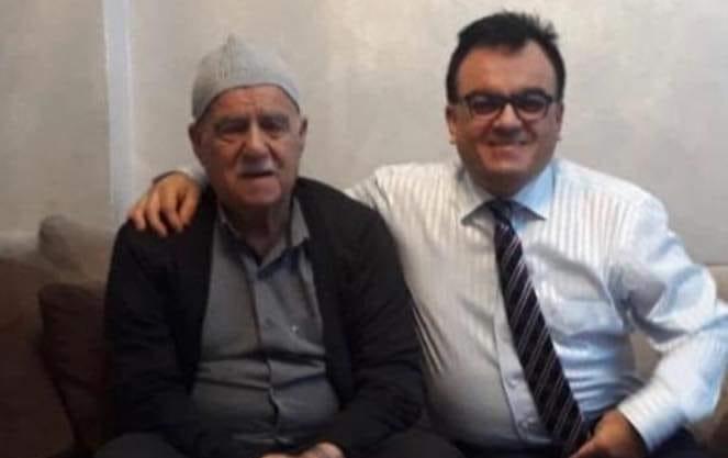Mustafa Çadırcı babasını kaybetti