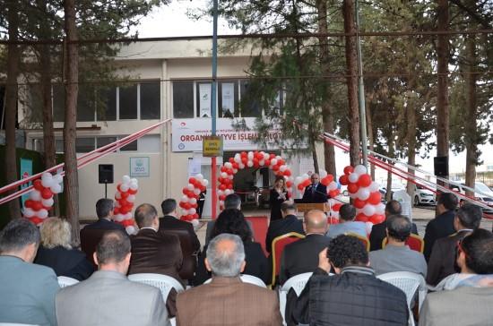 Organik meyve işleme tesisi, Harran Üniversitesinde açıldı
