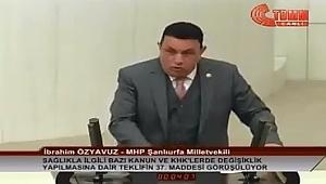 Özyavuz; Şanlıurfa'nın sorunlarını Meclise taşıdı
