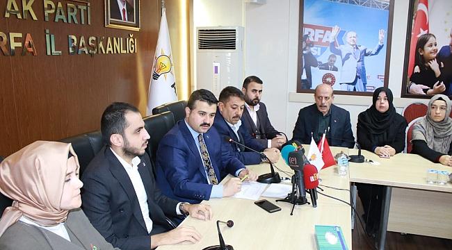 Şanlıurfa'da AK Partiye 260 müracaat