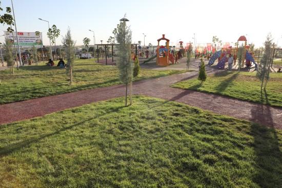 Şanlıurfa'ya 2 milyon 828 bin metrekarelik yeşil alan kazandırıldı