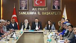 Türkiye'nin en genç milletvekili en genç il başkanını ziyaret etti