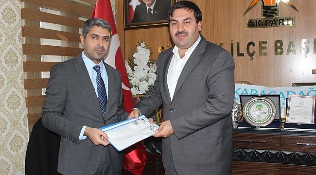 Tüysüz, Siverek Belediye Başkanlığı için müracaat etti