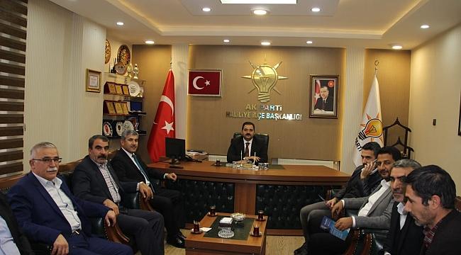 Urmak, AK Parti Haliliye teşkilatını ziyaret etti