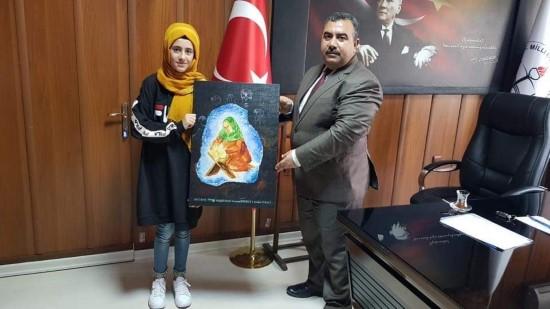 Viranşehirli kız öğrenci Türkiye üçüncüsü oldu