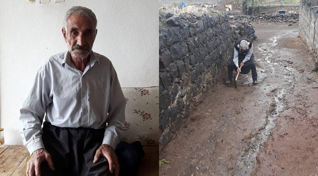Yaşlı adam mektubunda kent yöneticilerini Erdoğan'a şikayet etti