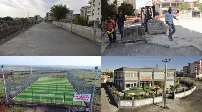 Yenişehir mahallesi modern görünüme kavuştu