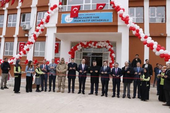 Akçakale'de iki okul açılışı yapıldı