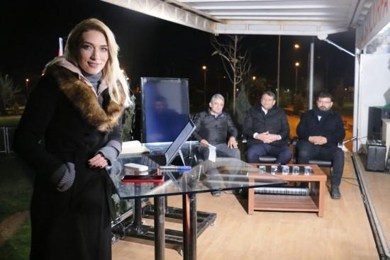 Akçakale gazetecilere ev sahipliği yapıyor