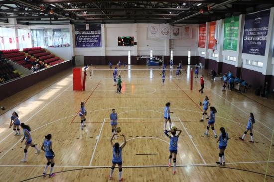 Analig voleybol heyecanı Şanlıurfa'da yaşandı