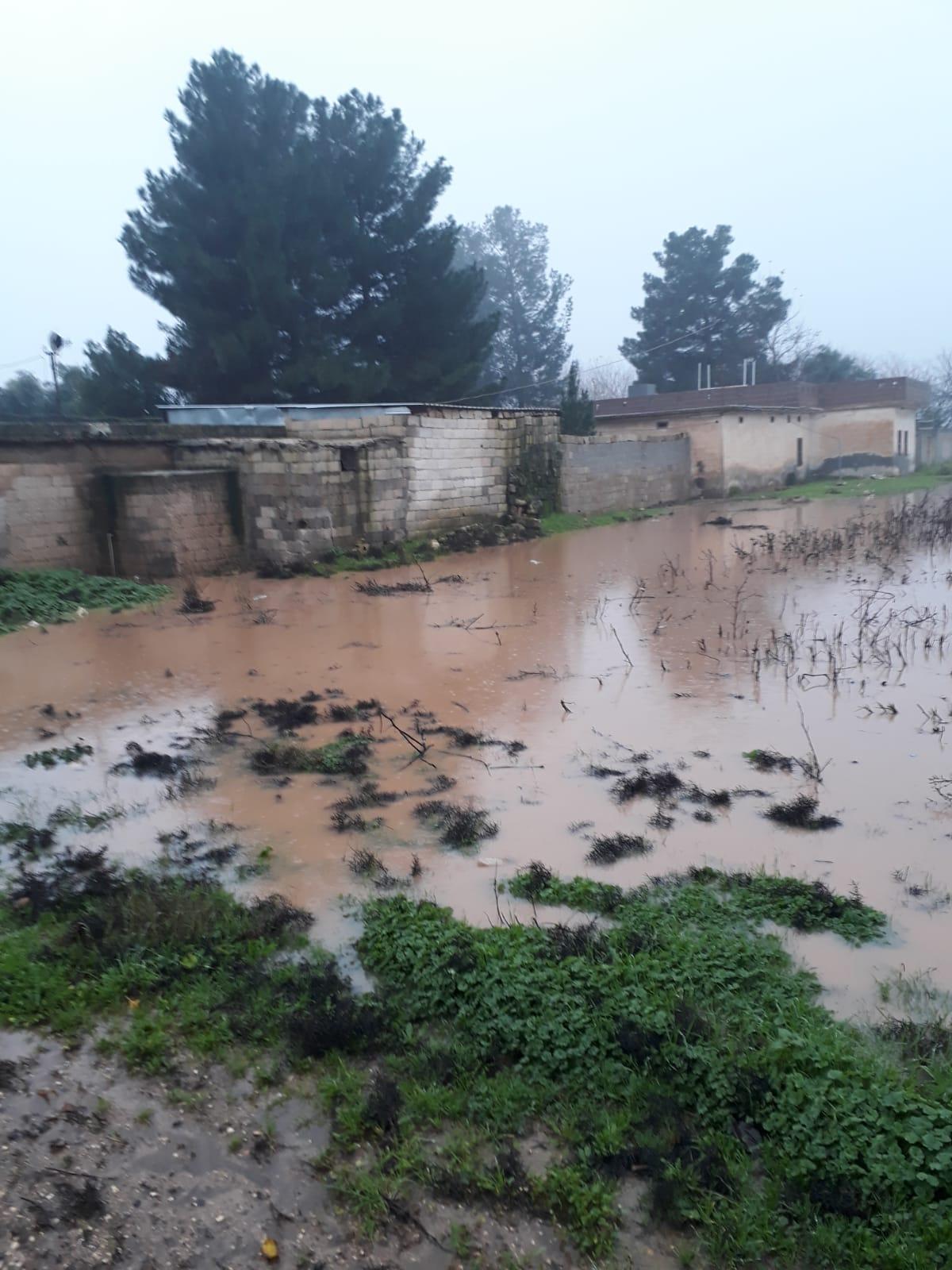 Aşırı Yağış Şanlurfa'da Yaşamı Etkiledi.