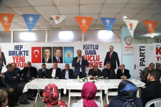 Birecik belediyesinde koordinasyon toplantısı düzenlendi