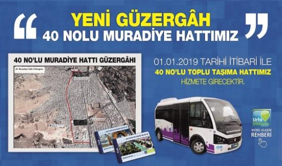 Büyükşehir'den yeni ulaşım güzergahı