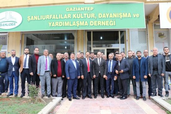 Çiftçi, Gaziantep'teki Şanlıurfalılar ile bir araya geldi