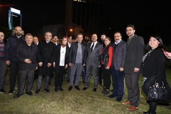 Çiftçi, İzmir'de hemşehrileri ile buluştu