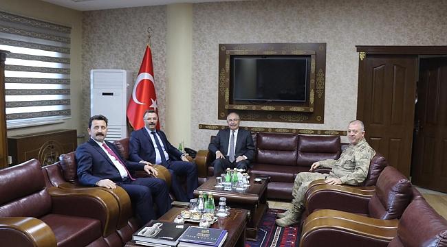 Cumhuriyet Başsavcısı Öztoprak'a ziyaret