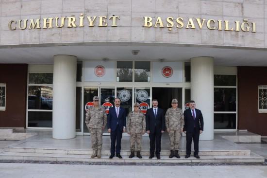 Jandarma Genel Komutanı Orgeneral Çetin Şanlıurfa'da