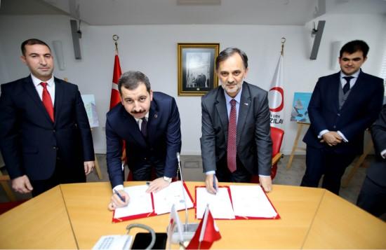 Karaköprü Belediyesi ile Kızılay protokol imzaladı