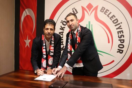 Karaköprü Belediyespor'a Şanlıurfalı teknik direktör