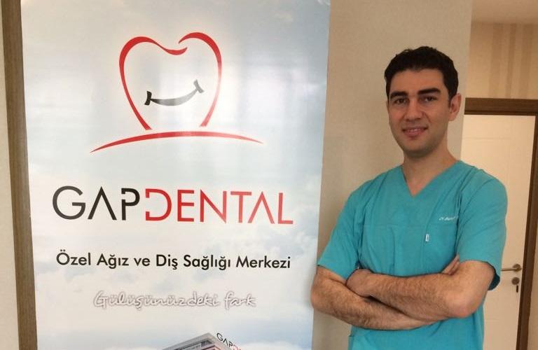 Özel GAPDENTAL Diş Polikliniğinde dişlere estetik çözüm