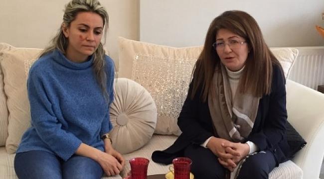 Polat'tan Dr.Ebru Kılıç'a geçmiş olsun ziyareti