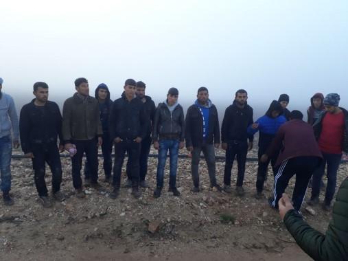 Şanlıurfa'da 150 düzensiz göçmen yakalandı