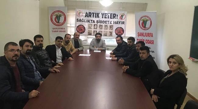 Şanlıurfa'da kadın doktorun darp edilmesine tepki