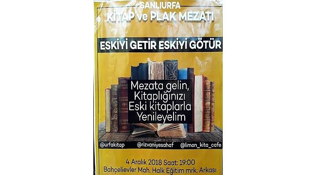 Şanlıurfa'da Kitap ve Plak mezatı