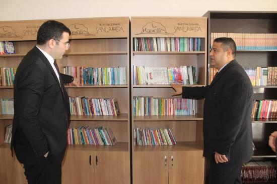 Siverek'te kütüphane ve okuma salonu açıldı