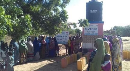 Siverek'ten Nijer'e su kuyusu