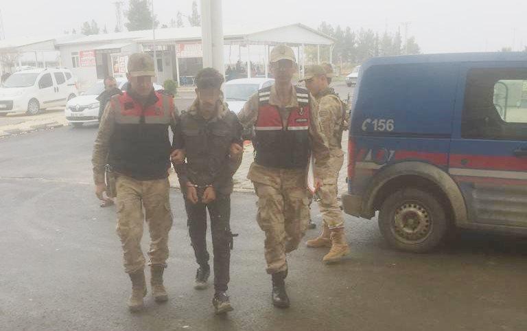 Suriye sınırında 1 DEAŞ'lı terörist yakalandı