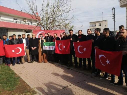 Suriye sınırındaki harekat hazırlığına destek