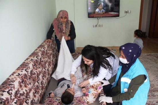 Viranşehir Belediyesinden evde bakım hizmeti