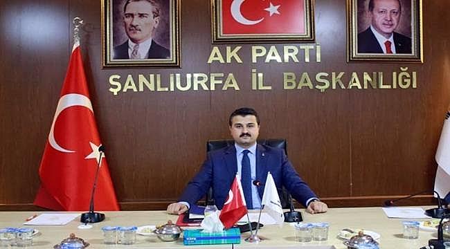 AK Parti adayları 12 Ocak'ta urfa'da açıklayacak