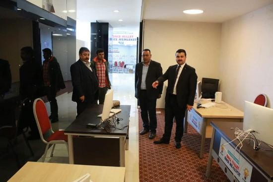 AK Parti İl Başkanı Yıldız SKM'de
