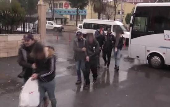 Dolandırıcılık yapan 15 kişi tutuklandı