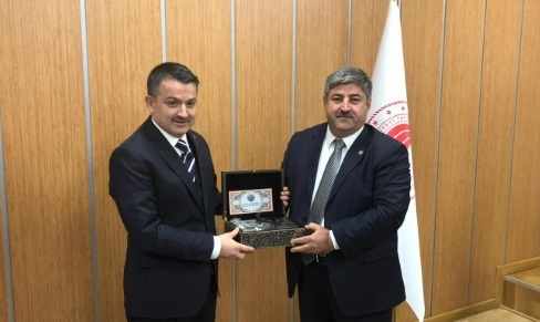 Eyyüpoğlu: Urfa'dan Türkiye'yi doyurmaya adayız