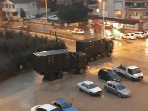 Hatay'dan Urfa sınırına mühimmat sevkiyatı
