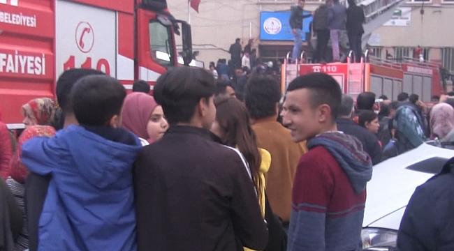 Kanuni Sultan Süleyman okulunda yangın