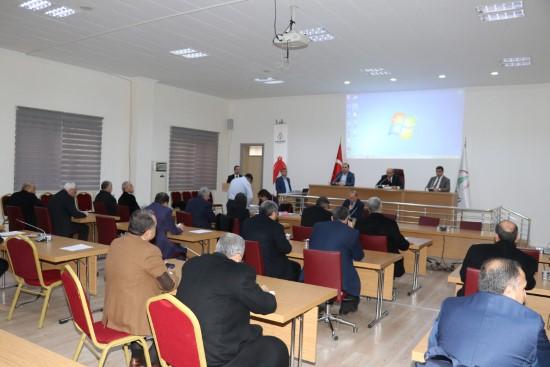 Karaköprü'de yılın ilk meclis toplantısı yapıldı